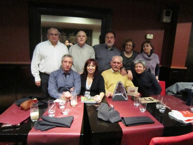 participantes en la cena (buena compañía)