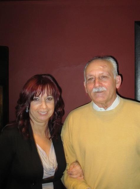 José Manuel y Marisa (incansable organizadora del evento)