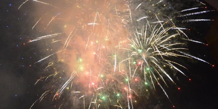fuegos de artificio